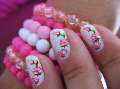 adesivo de rosa pink