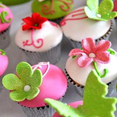 fairy cupcake decorations #Food #Restaurant For the perfect perfume to wear to the Fairy Banquet please check out: http://www.designyourownperfume.co.uk