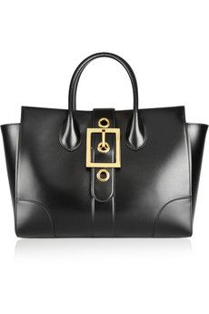Gucci Buckle-detailed leather trapeze bag | £1,479.17