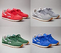"Reebok Classis Leather Vintage ""Suede Pack"" 30'th Anniversary"