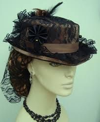 Ladies leather top hat stitch styles - Google Search