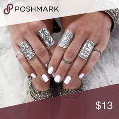 4 Piece Vintage Ring Set 4 Piece Vintage Ring Set Jewelry Rings