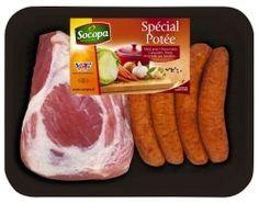 Assortiment Potée - Palette et saucisses fumées  #sausage, #pork