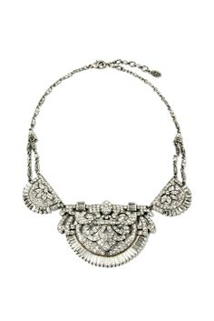 Style.com Accessories Index : fall 2012 : Ben-Amun. Want this! I think I would turn into a princess or Audrey Hebpurn immediately if I wore this.