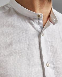 Discover men's designer shirts from Ted Baker. Mens Kurta Designs, Man Dress Design, Boys Kurta Design, Gents Kurta, Ted Baker, Designer Clothes For Men, Shalwar Kameez, Shirt Style, Casual Shirts