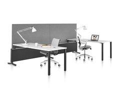 Canvas Office Landscape Dock-Based with Setu Chairs. Comodidad, estilo y sencillez dentro de un espacio limpio! #Mober