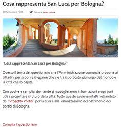 Cosa rappresenta San Luca per #bologna ? cliccate la foto e rispondete al questionario