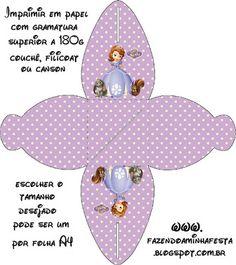 Kit para Festas - A Princesa Sofia da Disney