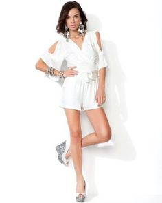 #Bebe love this romper. Perfect for a casual evening date in the summer
