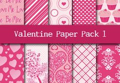 I will send you 10 digital Valentine Scrapbooking pages for $10
