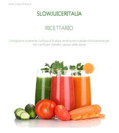 RICETTARIO SLOWJUICERITALIA