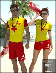 b0bca89dccd1 Lifeguard Uniform for Genesis 3 Male(s) is a clothing
