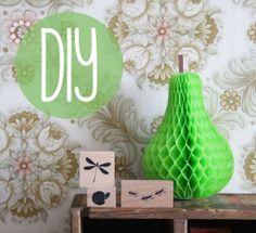 omstebeurt: DIY Honeycomb Trinkets