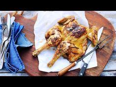 Een hele kip is binnen 35 minuten klaar in de Airfryer. Als je de kip kleiner maakt, worden zowel de poten als de kipfilets krokant en sappig.
