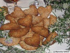 Crackers aux fleurs de romarin