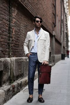Men's Street Style Inspiration #11 I recently... | MenStyle1- Men's Style Blog