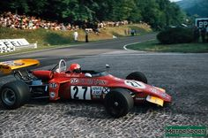 Niki Lauda - March 722 Ford BDA/Racing Engine Service - STP March Engineering - XX Grand Prix de Rouen-les-Essarts - 1972 European Championship for Formula 2 Drivers, Round 7
