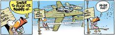 Swamp Cartoons: Air Traffic Control Warning Comic