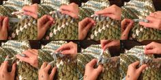 USING HALF DOUBLE CROCHET STITCH... Gives a little different look to the rug... How to Make a Rag Rug, Step-by-Step