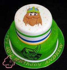 First Birthday Parties, Birthday Cakes, First Birthdays, Birthday Ideas, Raiders Cake, Themed Cakes, Cake Ideas, Cake Decorating, 50th