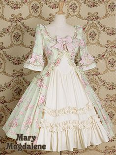 Lace Market is the largest online marketplace for EGL (Elegant Gothic Lolita) Fashion. Sell and buy Lolita dresses, skirts, accessories and more with thousands of users around the world! Pretty Outfits, Pretty Dresses, Cute Outfits, Fashion Sale, Fashion Outfits, Fashion Ideas, Mode Lolita, 18th Century Dress, Gothic Lolita Fashion