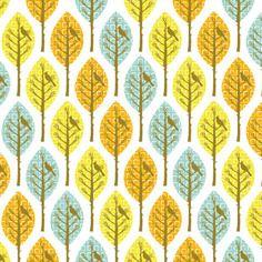 Tissu patchwork christel g. design : forest pattern t2 - coupon 50 x 52 cm