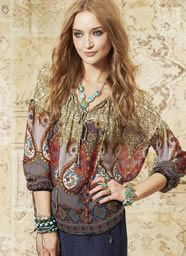 image17 That Look, Stylists, Bohemian, Blouse, Winter, Marrakech, Collection, Tops, Women