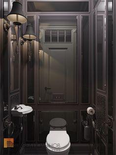 Фото: Дизайн санузла - Интерьер шестикомнатной квартиры в классическом стиле, Малый пр. П.С., 160 кв.м.