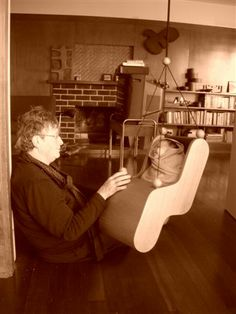 Plywood Baby Furniture by Gidon Bing