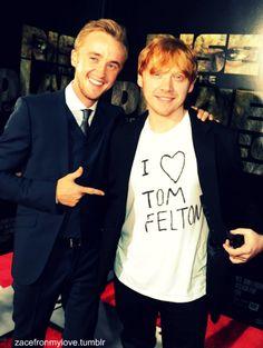 Both. Together. - Tom Felton & Rupert Grint