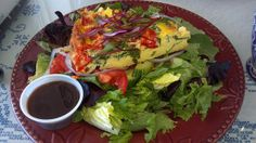 Deliciousness at Blueberry Hill Market Cafe in New Lebanon, New York