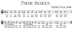 Beth's Music Notes: Frere Jacques - Are You Sleeping