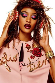 22ee580503 Jourdan Dunn by Giampaolo Sgura for Vogue Japan