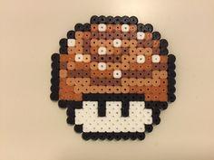 perler bead mushroom Cinnamon bun - by Bjrnbr