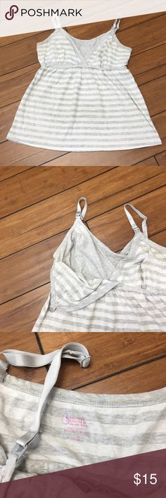 Nursing 🤱 Tank Bump in the Night nursing Tank. This one has a flowing bottom portion and is not tight. Good used condition. Tops Tank Tops