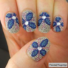 Microbead Flowers (part 2!) | Painted Fingertips
