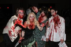A photo I took at #USF's first #zombie prom. #journalism