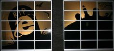 Image result for halloween window display Halloween Window Display, Superhero Logos, Windows, Image, Art, Art Background, Kunst, Performing Arts, Ramen