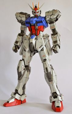 "Custom Build: MG 1/100 Aile Strike Gundam Ver. RM ""Detailed"" - Gundam Kits Collection News and Reviews"