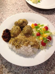 How to Make Meat Balls in Curry Sauce  Danish Style Recipe