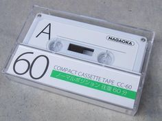 Cassette tape by Nagaoka. Nagaoka is known as phonograph needle manufacturer.