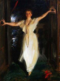 Isabella Stewart Gardner by Swedish painter, Anders Zorn. A spectacular portrait.