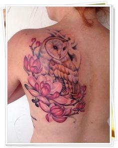 owl tattoo34