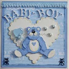 baby boy cards handmade - Cerca con Google