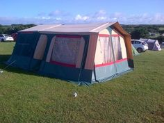"TRIGANO TRAILER TENT [current price £1,200] ""probably only used 10 times"""