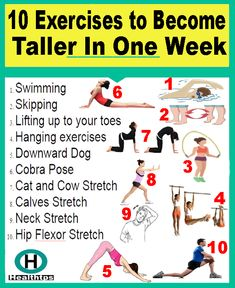 10 Exercises to Become Taller In One Week