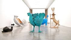Sculptural and Strange Creatures from the Celebrated French Art Duo