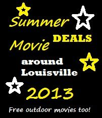 Click to see all of the #Louisville Summer Movie deals that will help you beat the heat this summer!