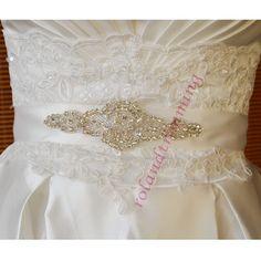 14,73 3sztwholesale bride new crystal rhinestone bead belt applique ra347-in Belts & Cummerbunds from Women's Clothing & Accessories on Aliexpress.com | Alibaba Group