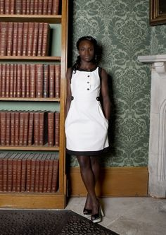 Assisting on Frankie Boyle's libel case against the Daily Mirror was not a bad start to the job for England footballer and Lee & Thompson trainee Eniola Aluko. Frankie Boyle, Lawyers, Career Advice, Sexy Women, White Dress, High Neck Dress, England, Football, Inspirational
